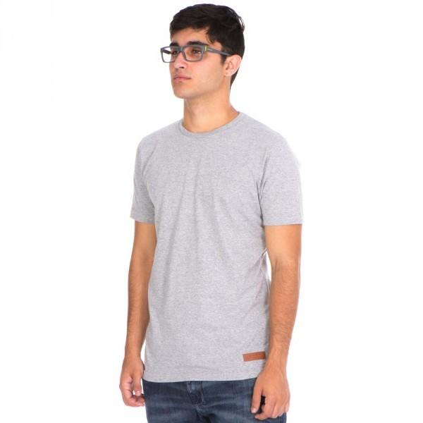 t-shirt minimal cinza