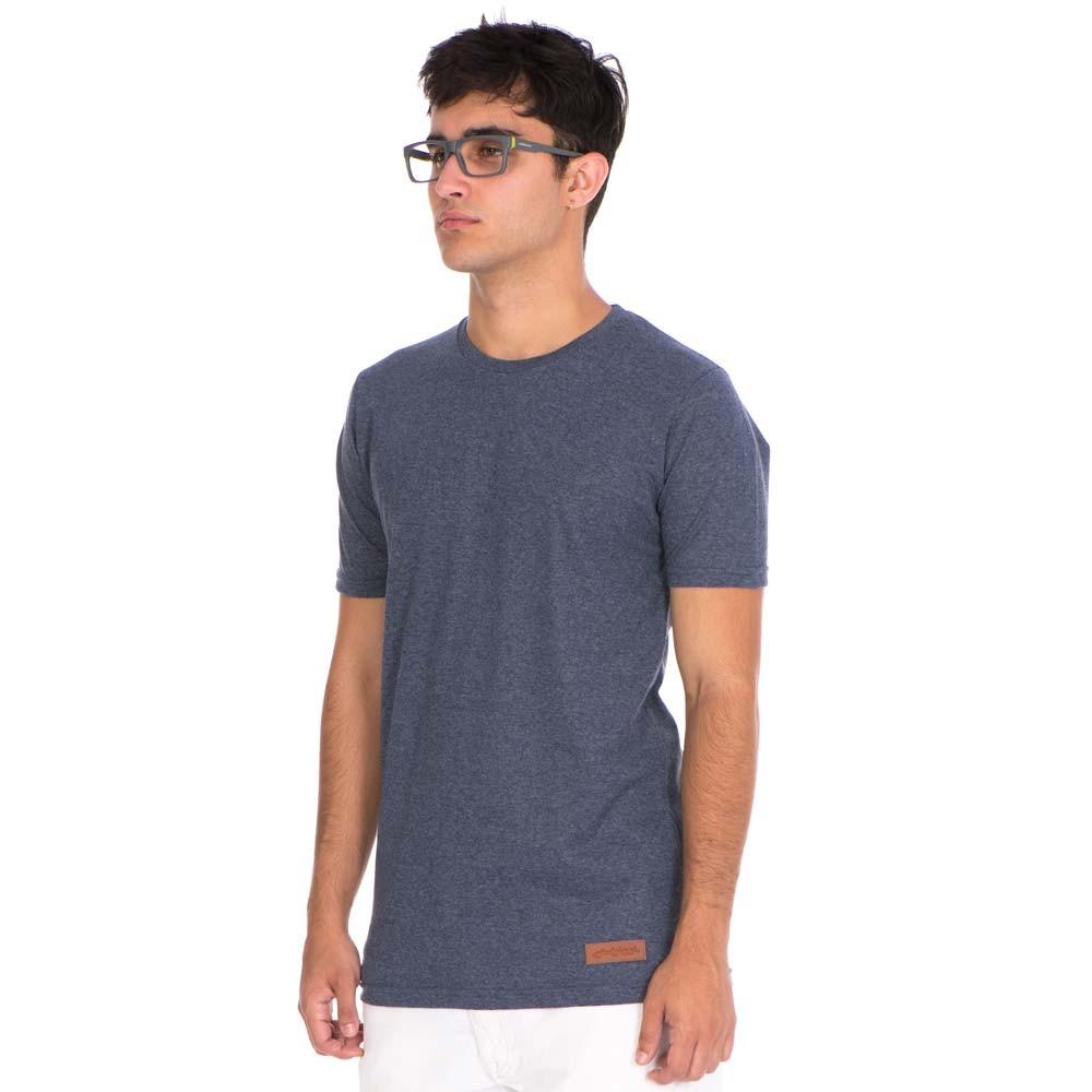 t-shirt minimal azul